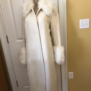 Express off-white peacoat NEW